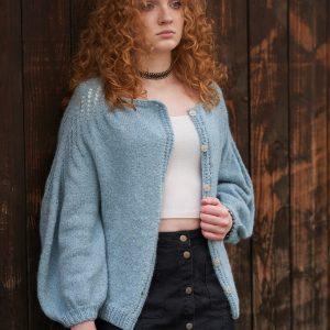 Lekki wełniany sweterek z rękawem 3/4 TWINKLE OF JOY